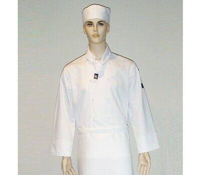White Chef's Jacket - Short Sleeve