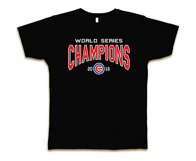 sale retailer ae968 8082c CHICAGO CUBS 2016 World Series Champions MLB T-Shirt Brand New S-3XL