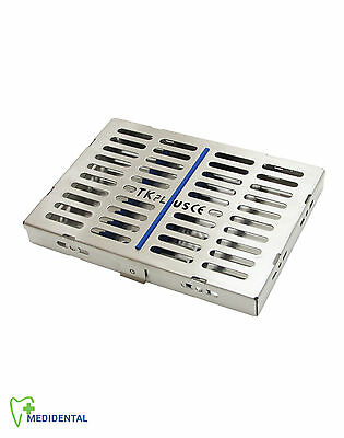 Sterilization Cassette Rack Tray Holds 10 Surgical Instruments Autoclave Tools