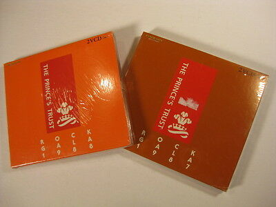 Prince's Trust Rock Gala 1987 and 1988 twin VCD pair Still sealed Elton John