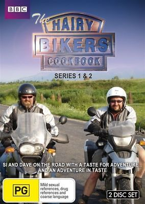 The Hairy-Bikers Cookbook : Series 1-2 (DVD, 2010, 2-Disc Set) Brand New Sealed