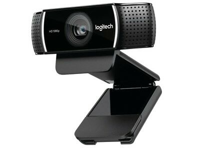 Logitech C922 Pro Stream 1080P Full HD Game Streaming Tripod Microphone Webcam