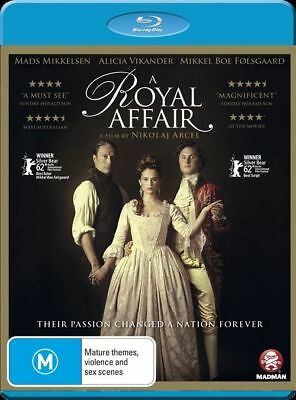 A Royal Affair (Blu-ray, 2012) Brand New & Sealed Region 4 Blu Ray - Free Postag