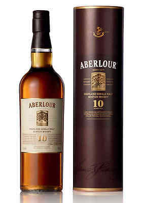 Aberlour 10 Year Old Single Malt Scotch Whisky BIG 1000ml