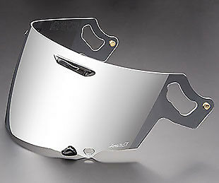 Genuine Arai VAS-V RX-7V Visor Coated Silver Mirror Iridium Shield Track Race Mo