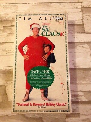 The Santa Clause (VHS, 1998) Like New Opened
