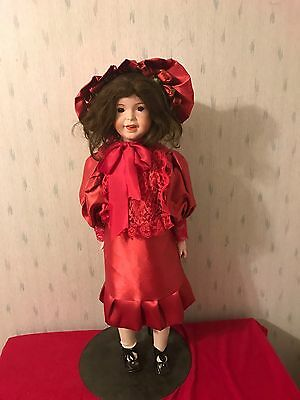 """Nice SFBJ 236 Paris France French Bisque Reproduction Large 27"""" Doll"""