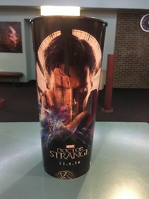 Doctor Strange 44oz Hard Plastic Movie Theater Cup Brand New