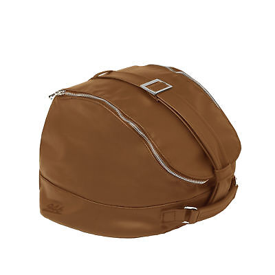 Vespa Genuine Handcrafted Leather Helmet Bag - Marrone Brown 605815M0PC