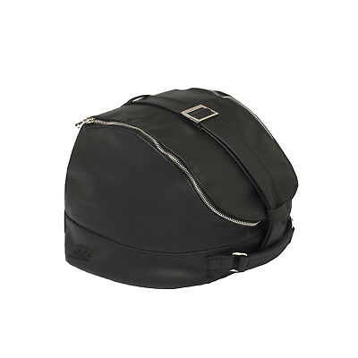 Vespa Genuine Handcrafted Leather Helmet Bag - Nera Black 605815M0PN