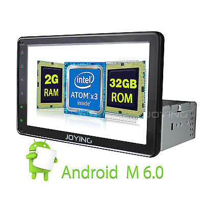 "8"" Android 6.0 RAM 2GB ROM 32GB HD Single 1din GPS BT Autoradio mirrok link DAB+"