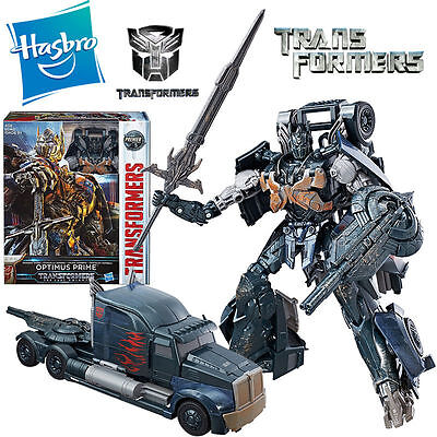 Transformers The Last Knight Leader Class Shadow Spark Optimus Prime Premier Toy