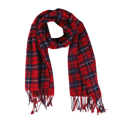 Lady Fashion Plaid Winter Neck Warm Tartan Check Shawl Scarf Neck Wraps Pashmina