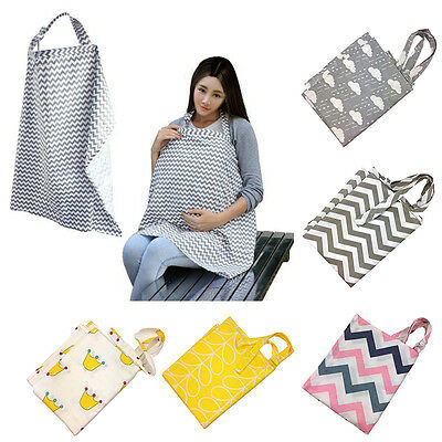 Cute Baby Infant Cotton Breastfeeding Cover Nursing Cover Udder Towel Privacy