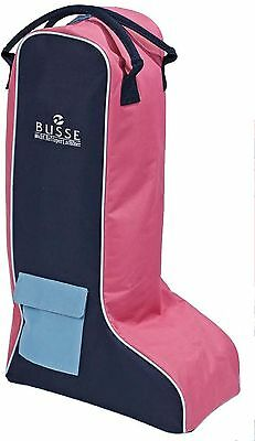 Busse Boot Bag COMPETITION   navy/lightblue/pink