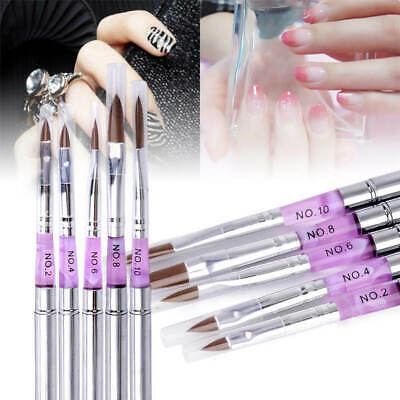 UV Acryl Gel Pinsel Gelpinsel Nail Art Brush Nagelart Maniküre Nageldesign