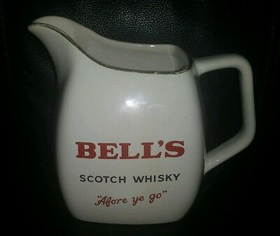 """Rare Collectable Bell's Scotch Whisky Jug """"Afore Ye Go"""" Wade Made In England"""