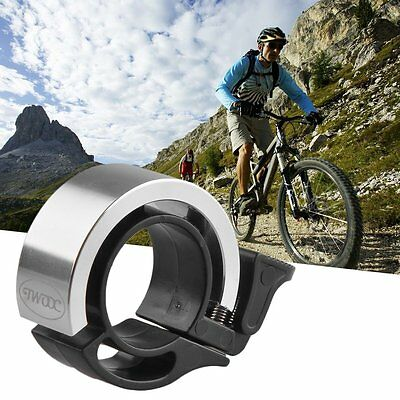 Bike Bicycle Invisible Bell Aluminum Alloy Loud Sound Handlebar Safety Horn DB