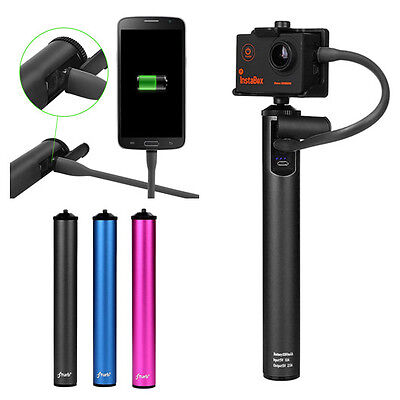 Portable 5200mAh External Power Bank Backup Battery Charger for GoPro iPhone