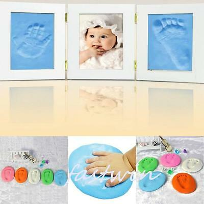New Baby Care Air Drying Soft Clay Handprint Footprint Imprint Kit Casting 1pc