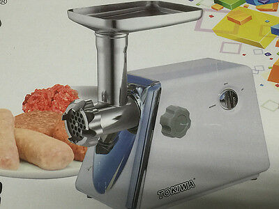 Electric Stainless Steel Meat Grinder Mincer Sausage Filler Kubbe Maker-2500w
