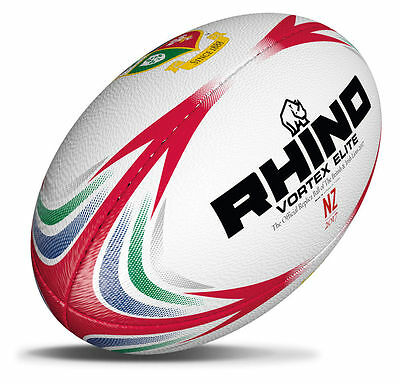 Rhino Vortex Elite British and Irish Lions Official Replica Rugby Ball 2017