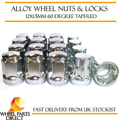 Wheel Nuts & Locks (12+4) 12x1.5 Bolts for Rover 25 99-05