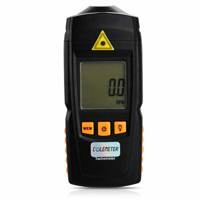 GM8905 Handheld Digital Laser Tachometer Test Precision Measuring