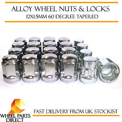 Tuner Locking Wheel Nuts 12x1.5 Bolts Tapered For Vauxhall Astra GTC VXR 13-19