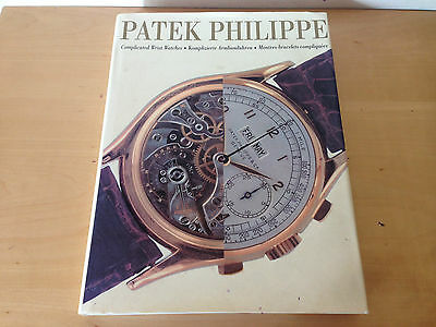Used - Book PATEK PHILIPPE Libro - COMPLICATED WRIST WATCHES - ENG DE FR