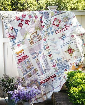 Foxley Village BOM Kit Block of the Month TILDA Patchwork Quilting Sewing Kit...
