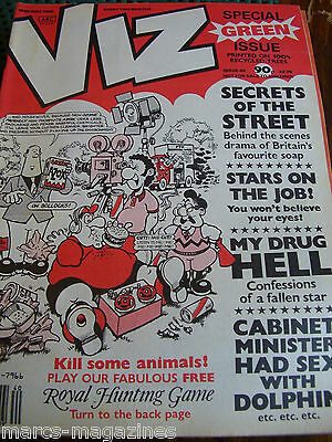 Viz Comic Book #40 Special Green Issue Secrets Of The Street