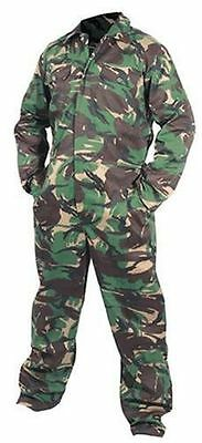 Men's Army Green Camouflage All In One Suit Overalls Fishing Hunting Shooting