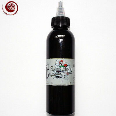 Sailor Jerry Tattoofarbe, Turbo Schwarz, 300 ml, Tattoo Farbe Tätowierfarbe Ink