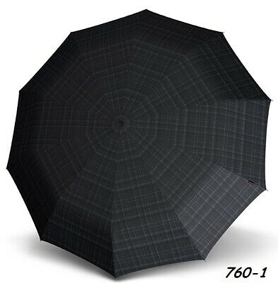 Umbrella by Knirps - Long AC Steel Gents - Check
