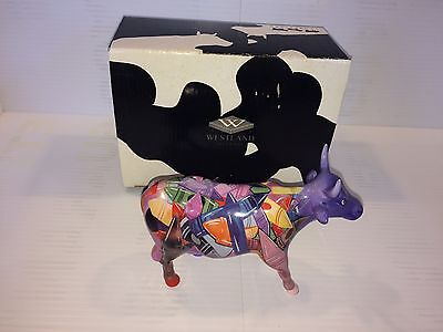 Cow Parade CRAYON Figurine 9192 Complete With Box
