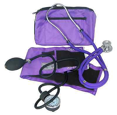 Rappaport Stethoscope And Blood Pressure Cuff Sprague Medical Kit Monitor Heart