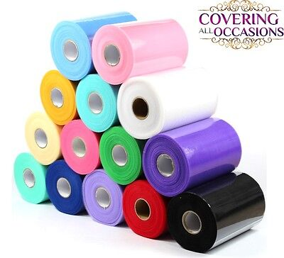 "TUTU TULLE ROLL - 6"" x 100 yards - Netting Craft Fabric Soft Nylon Wedding decor"