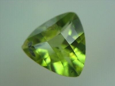 PERIDOT  -  TRILLANT CHECKERBOARD  -  7 mm  -  1,07 ct.