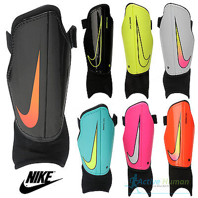 Nike Youth Charge 2.0 Football Shin Pads Boys Kids Soccer Hockey Ankle Guards