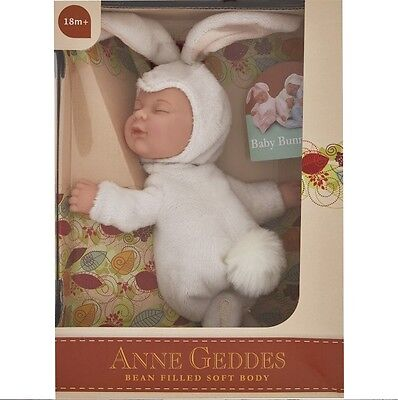 ANNE GEDDES DOLLS SELECTION FOR PLAY OR REBORN NEW IN Great Gift BOX White Bunny