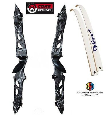 "Rhd 66"" New ""Muddy Black"" Core Archery Jet Take Down Recurve Bow Set"