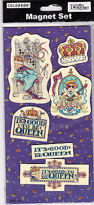 MARY ENGELBREIT Royalty Queen of Everything Colorbök Package Magnets 2004 - New