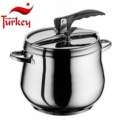 Pressure cooker 3.5L -15 liter Stainless steel Induction