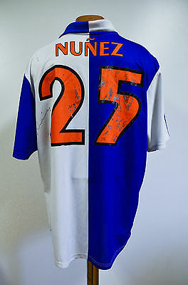 Grasshoppers Switzerland 2002/2003/2004 Home Football Shirt Jersey Adidas Nunez