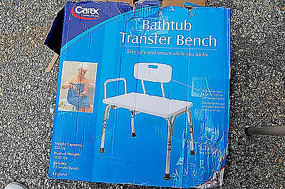 CAREX Bathtub Transfer Bench EASY IN / EASY OUT (NEW) (#M4227)