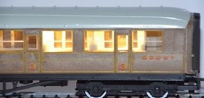 Train Tech Coach Lighting Warm White for Steam Era Coaches CL2 HO & OO Scale
