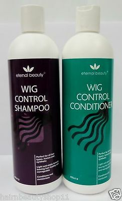 Wig Shampoo And Conditioner For Human & Synthetic Hair Wigs Deal