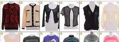 """JOB LOT OF 22 VINTAGE WOMEN""""S KNITS  - Mix of Era's, styles and sizes (17792)"""