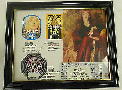 Stevie Nicks Gold Dust Tour Artist Proof Vip Passes All Access Design W Ticket